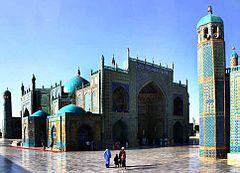 mosque bleude mazar-i sharif
