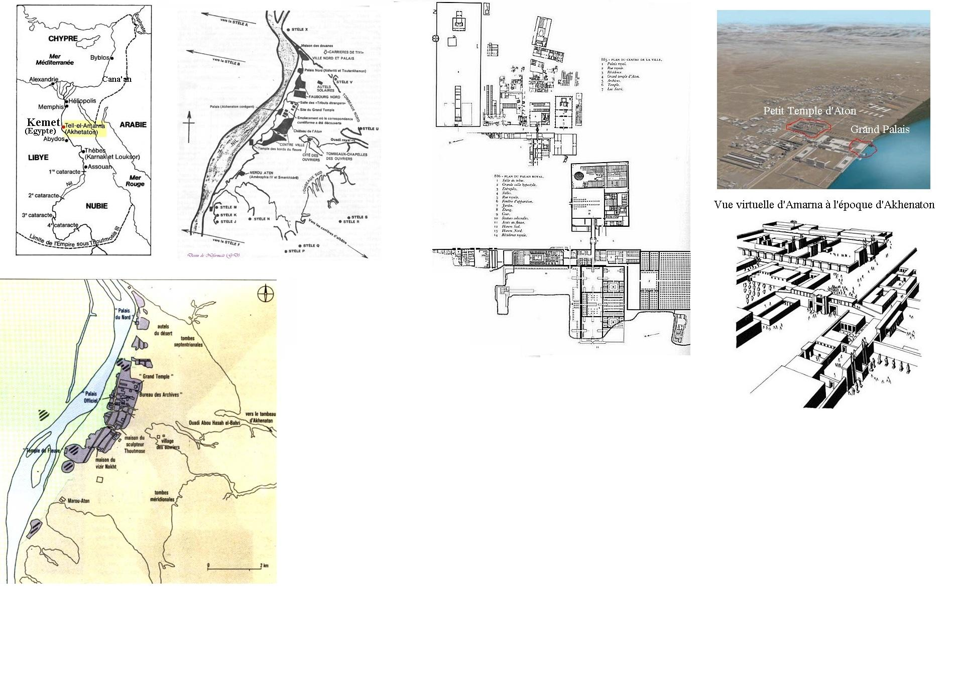 Amarna egypte kemet au temps d akhenaton