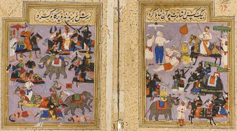 Bataille de talikota 1565