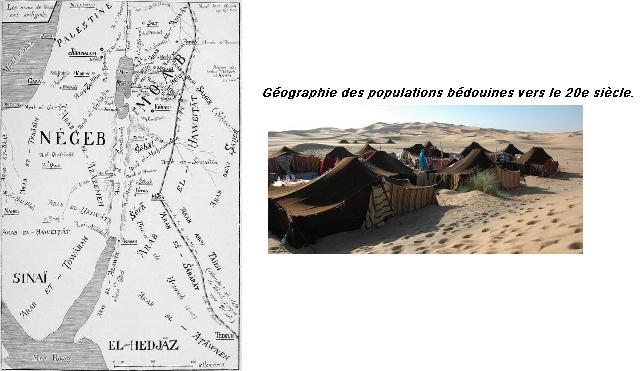 Carte bedouin arabie