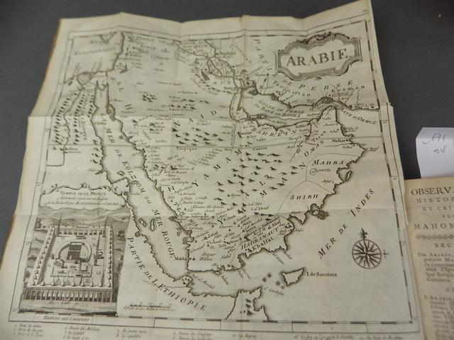 Carte coran traduction d andre de ryer 1649