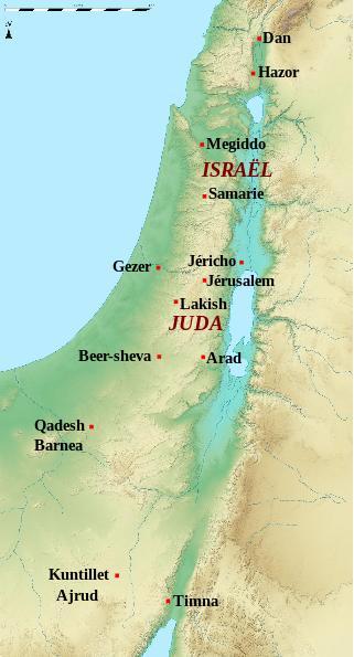 Carte israel 1