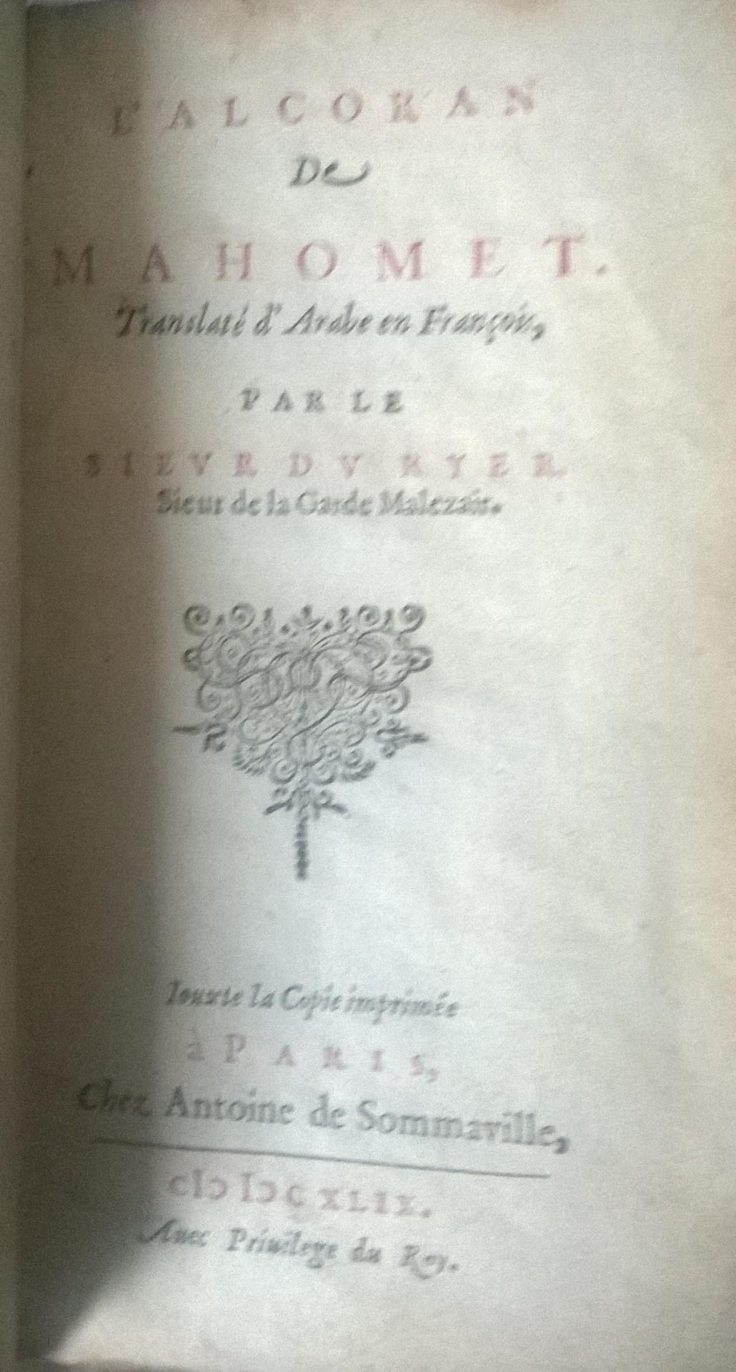 Coran 1649