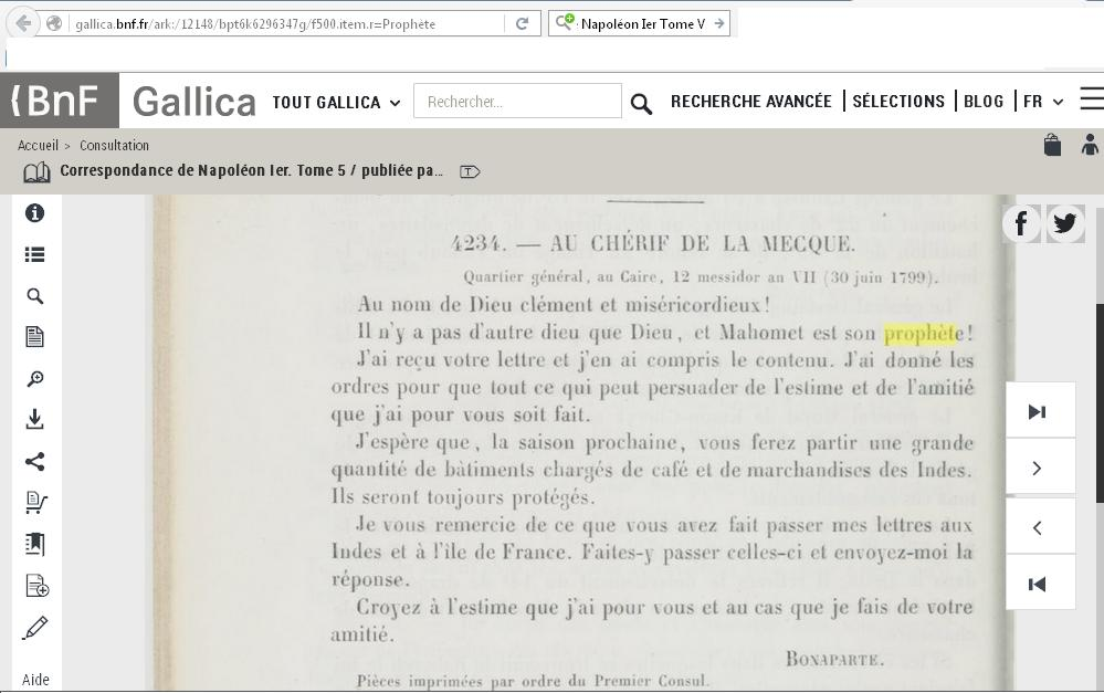 Correspondance de napoleon ier tome 5