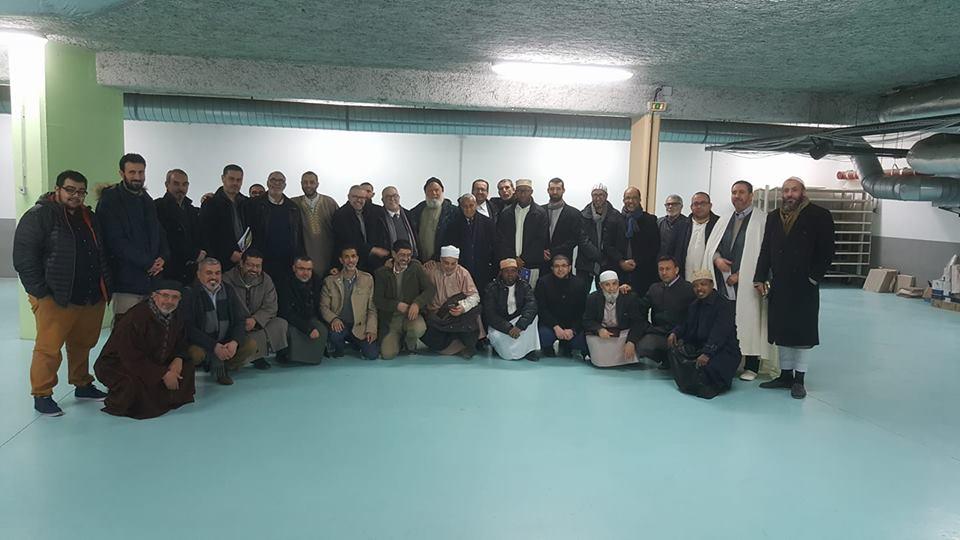 Creation du conseil theologique des imams du rhone 4 fevrier 2018