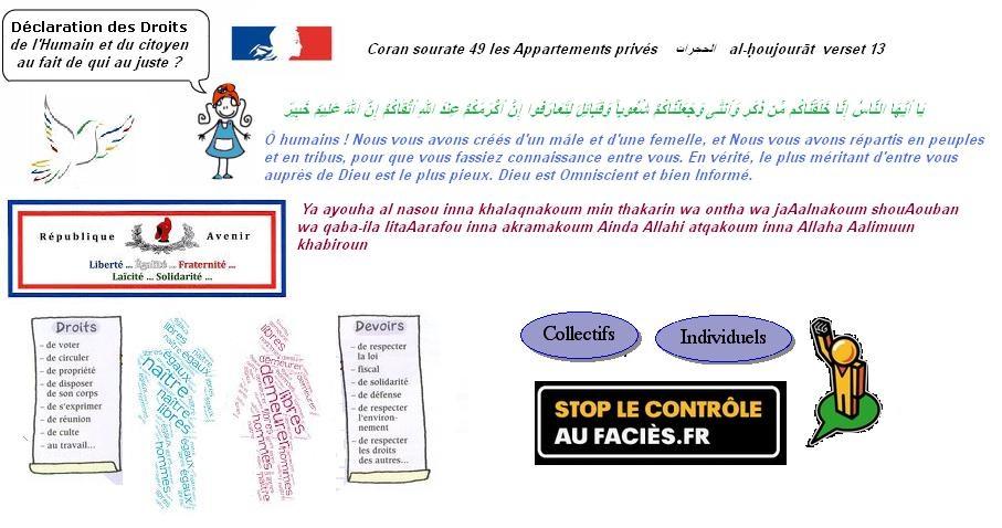 Declaration des droits des humains islam