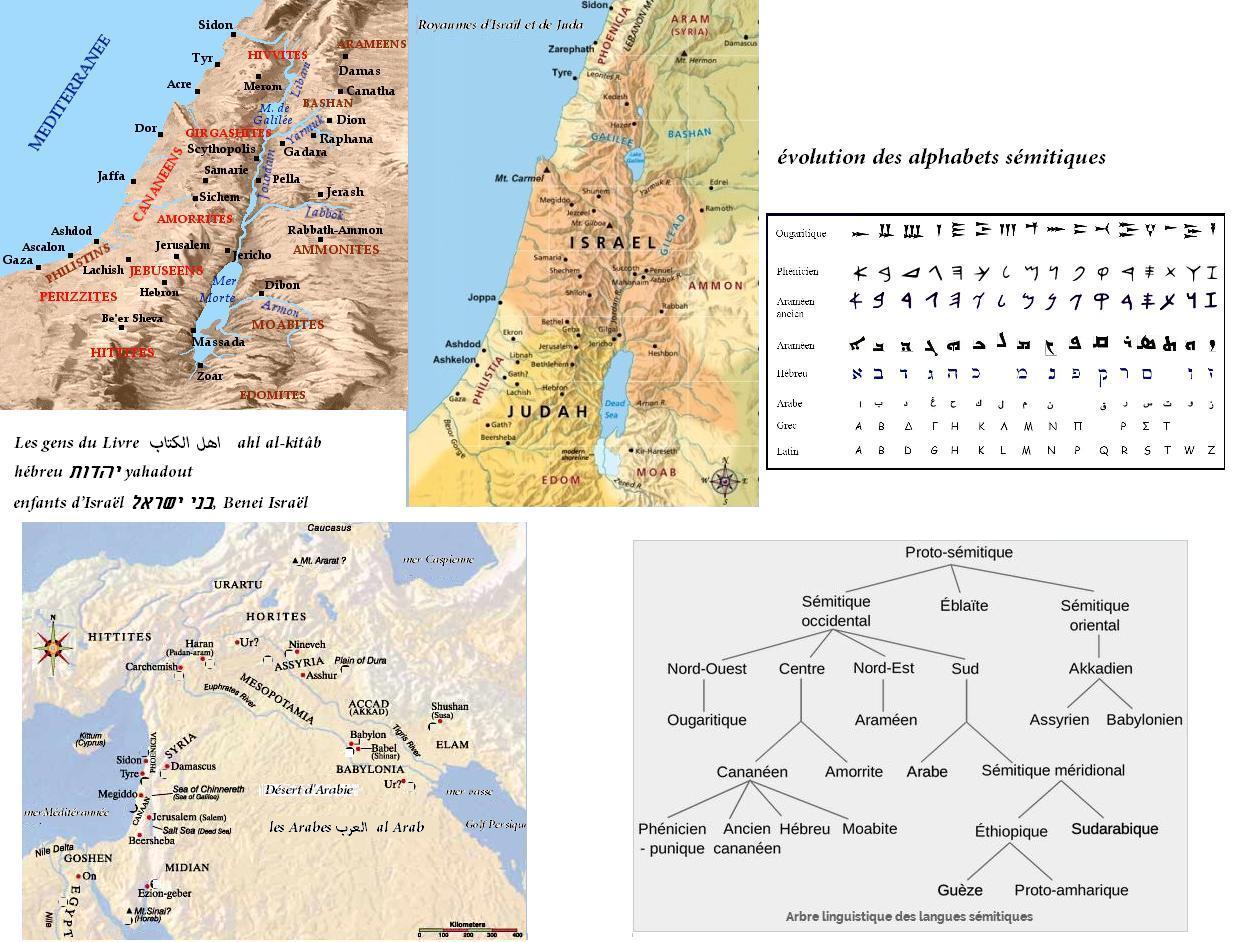Evolution des alphabets semitiques
