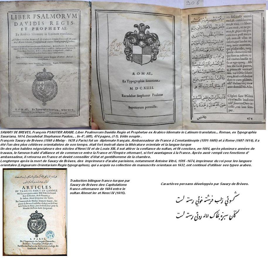 Francois savary de breves 1560 1628 diplomate francais