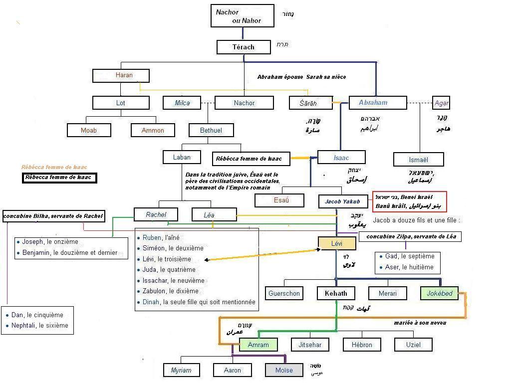 Genealogie abraham