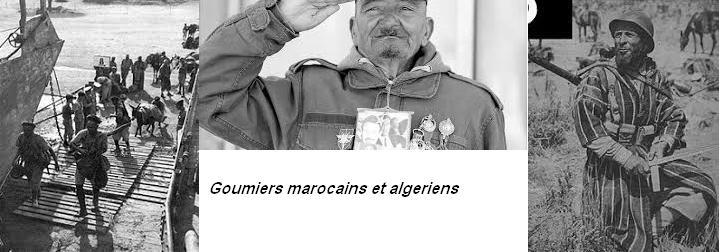 Goumier marocains et algeriens