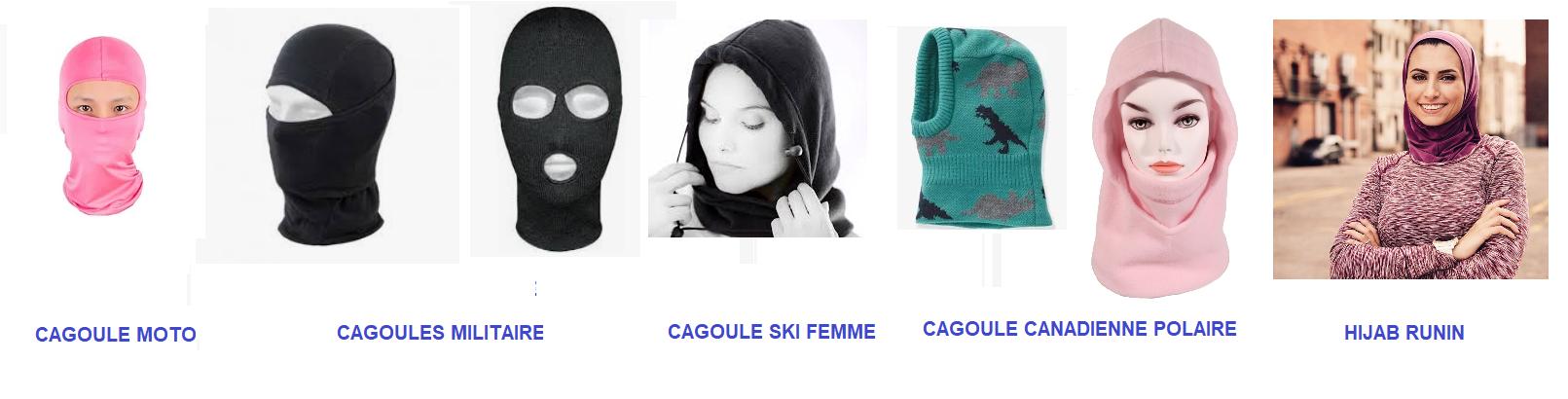 Hijab cagoule runin