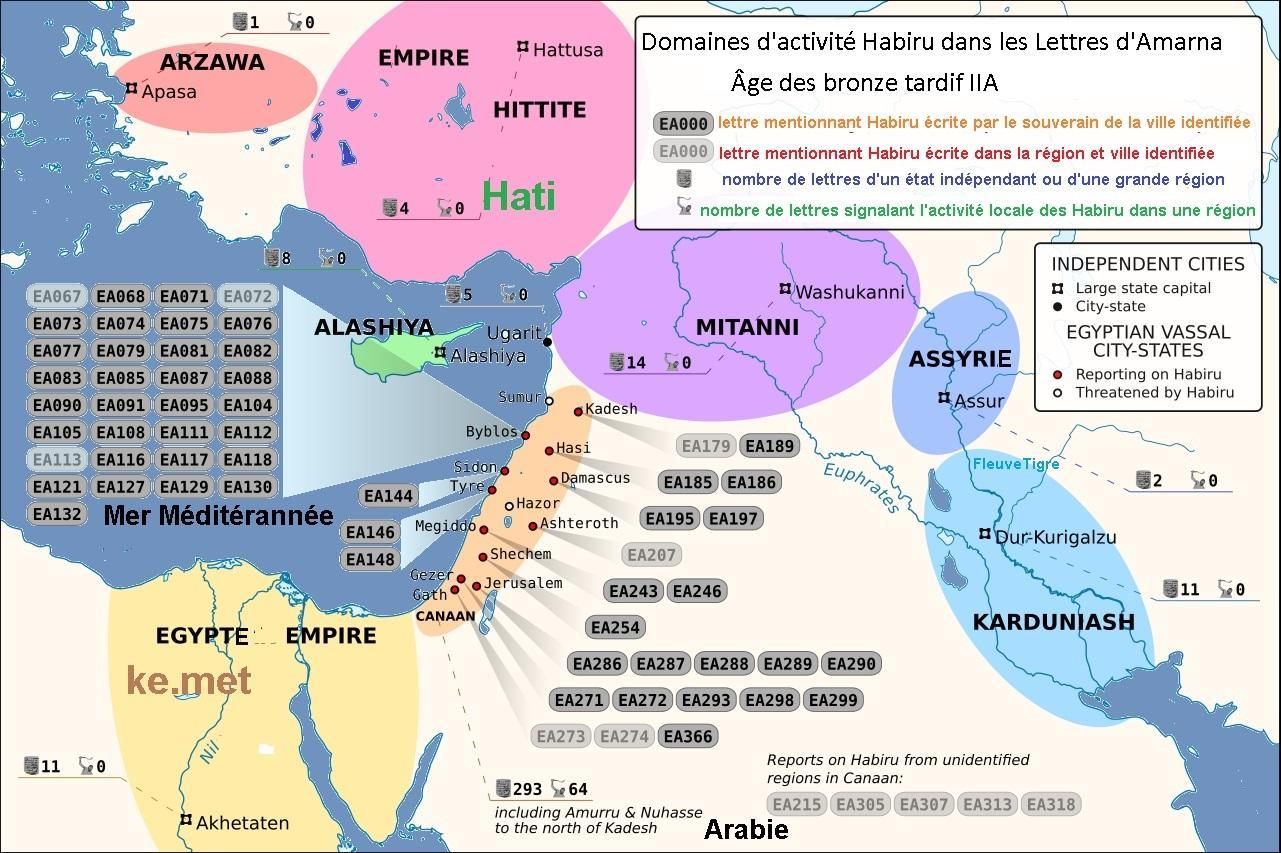 Histoire des hebreux les apiru