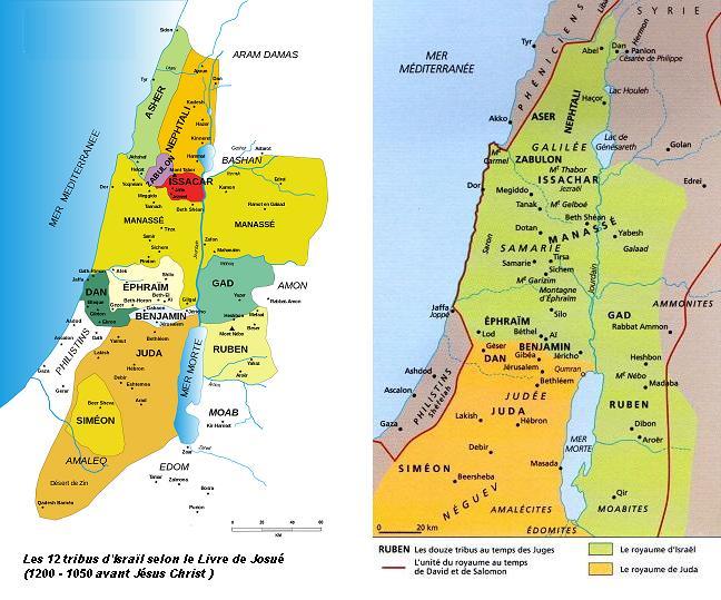 Israel12 tribus