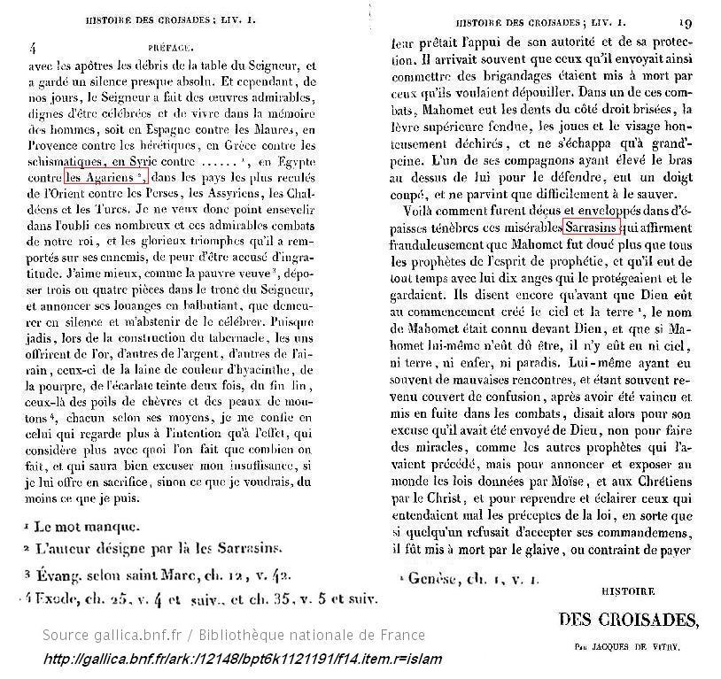 Jacques de vitry histoire des croisades