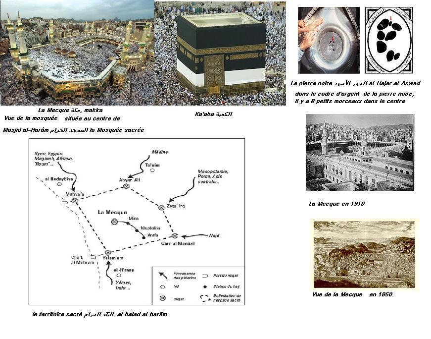 La mecque haram territoire sacre