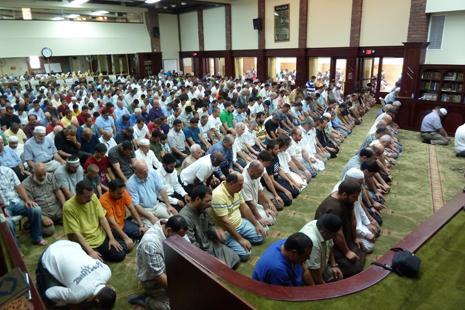La priere du vendredi a la mosquee