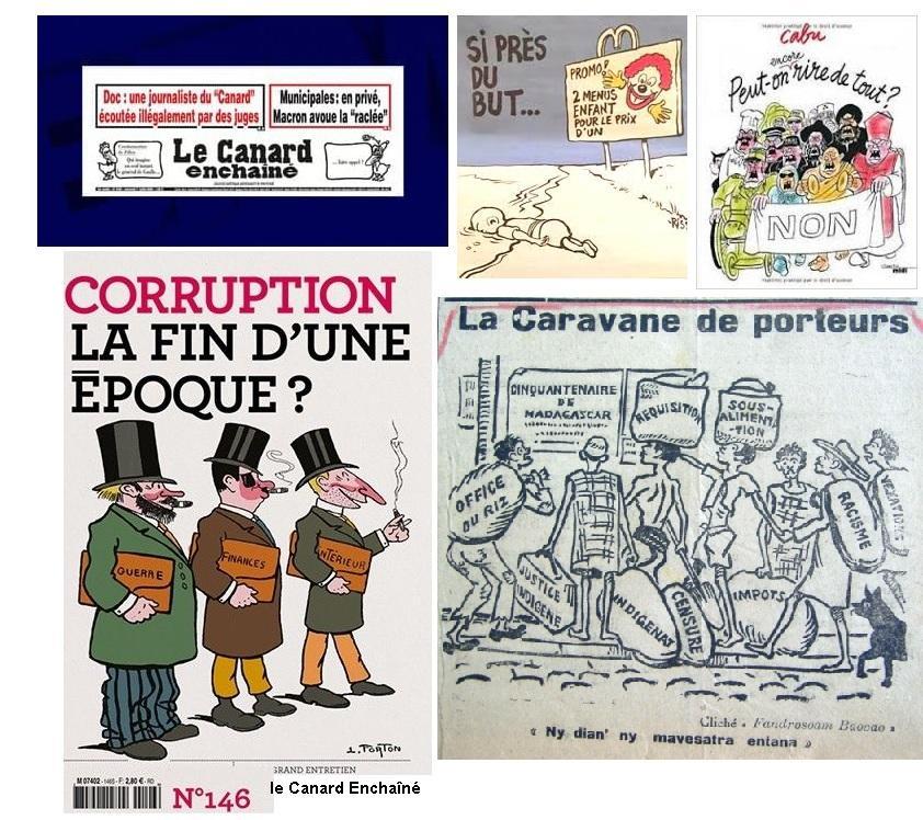 Le canard enchaine corruption 1