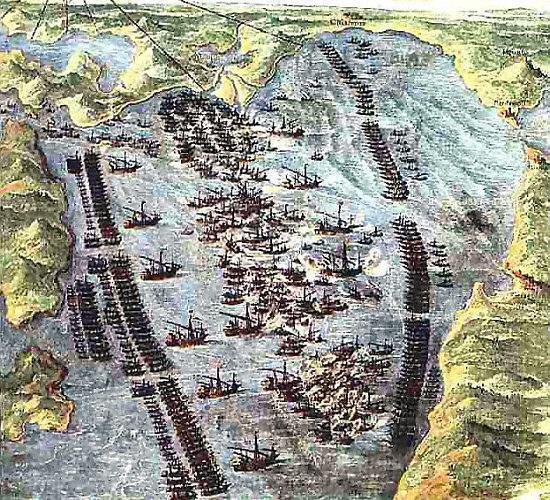 Lepanto venedig 1572 museo storico navale 550x500