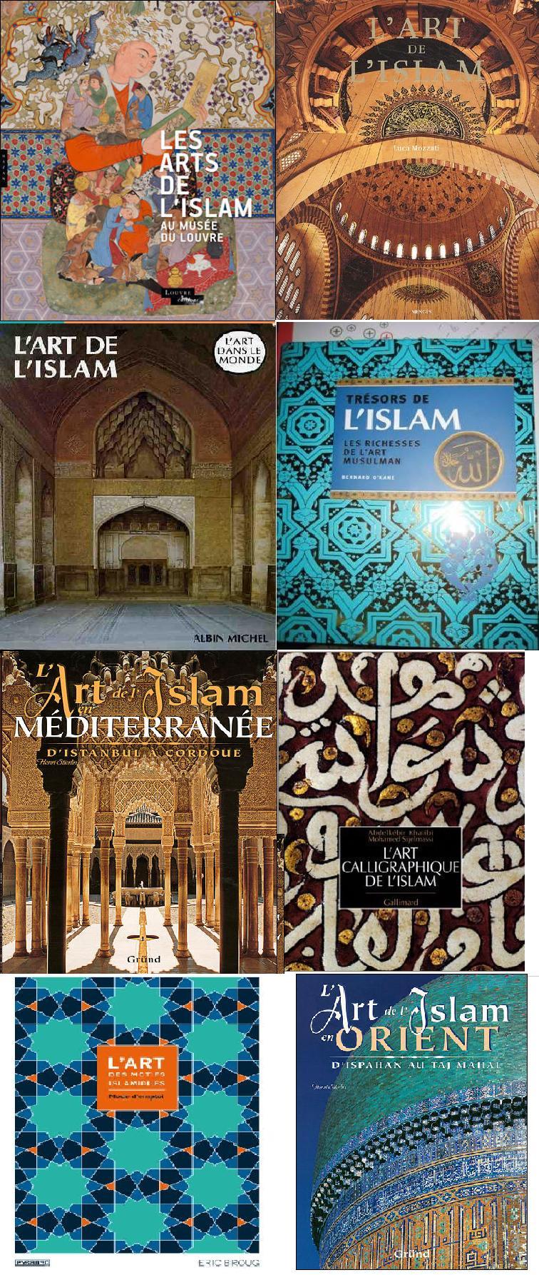 Livre les arts de l islam