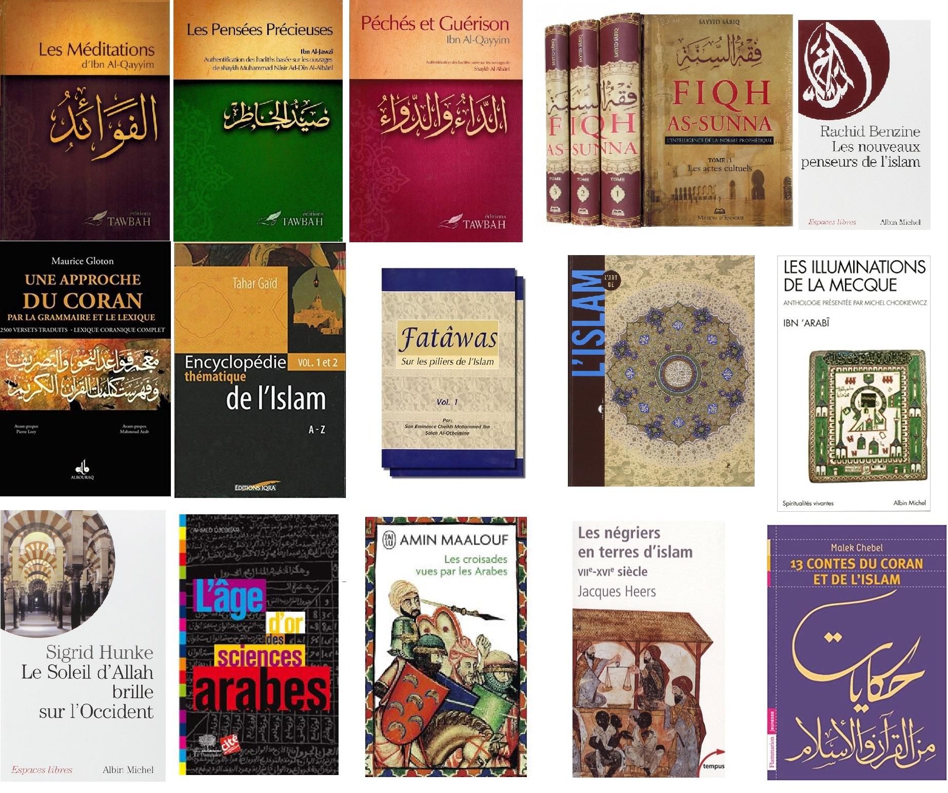 Livres du mois avril 2019 site islam