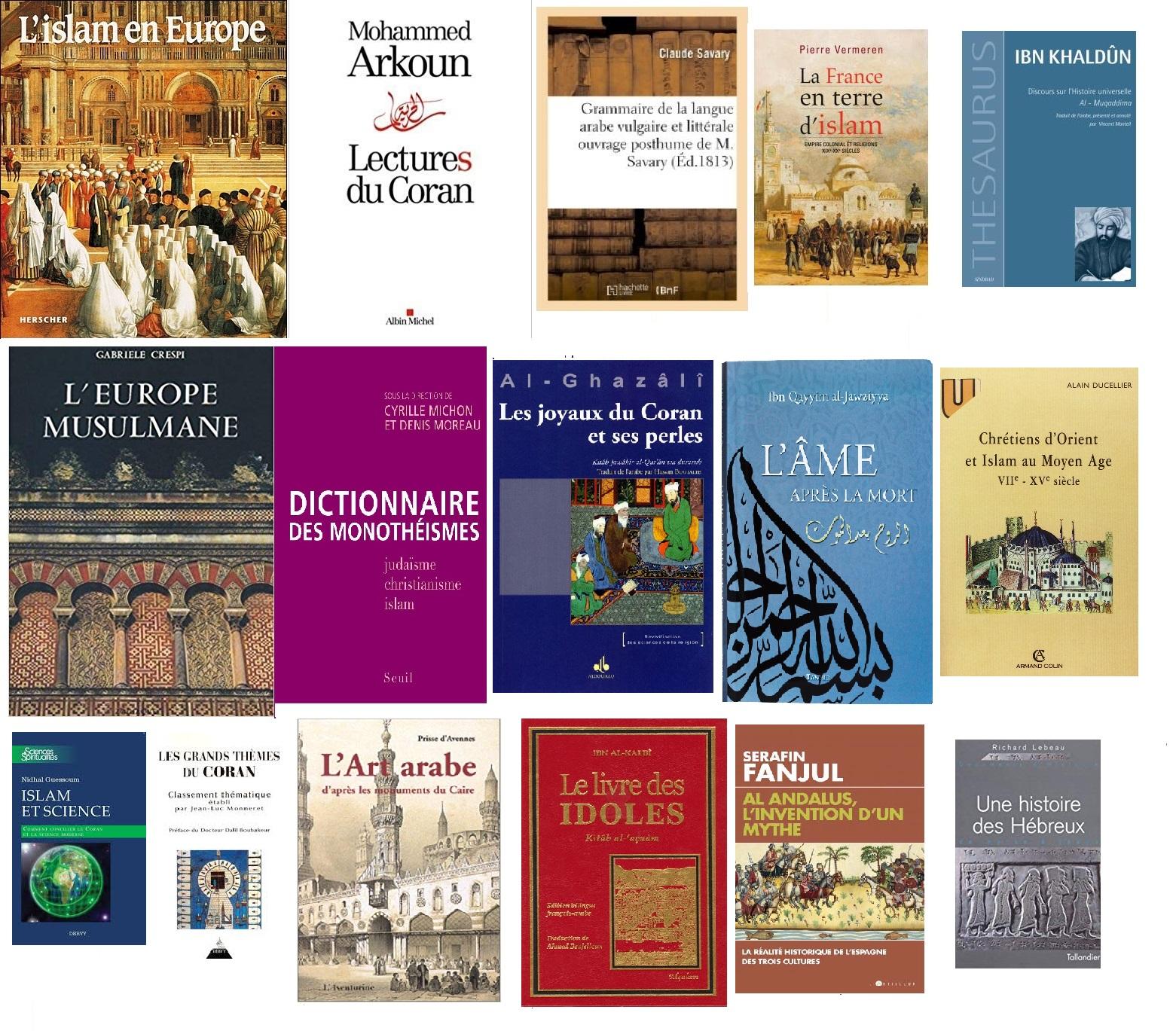 Livres du mois janvier 2019 site islam