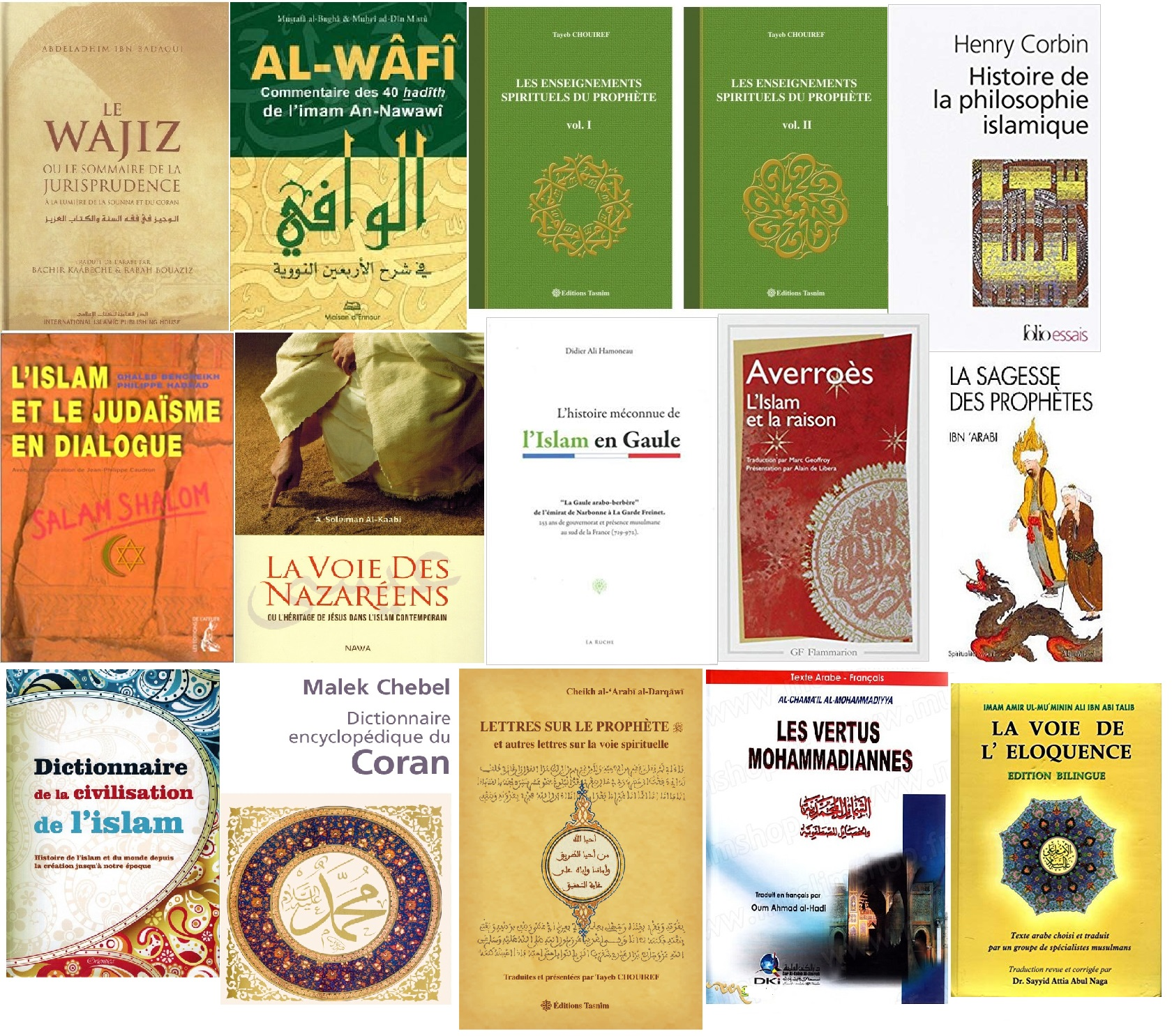 Livres du mois mars 2019 site islam