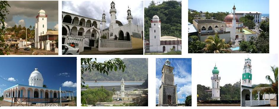 Mosquees mayotte