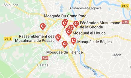 Mosquees proche bordeaux