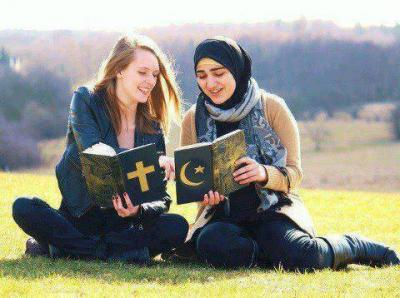 Musulmane et chretienne