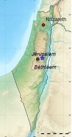 Nazareth jerusalem bellheem