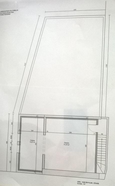 Plan 2 etage mosquee de thouars 79