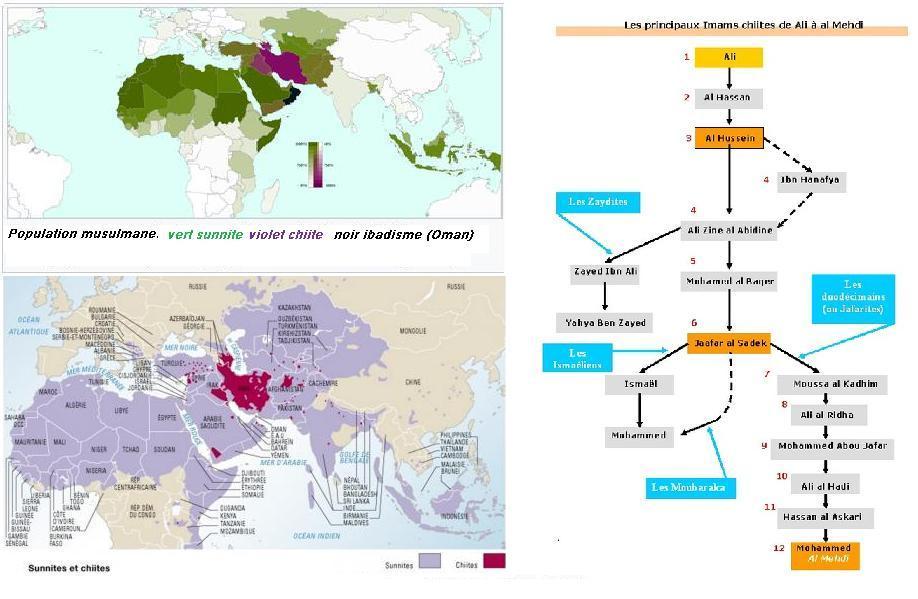 Population musulmane shiite