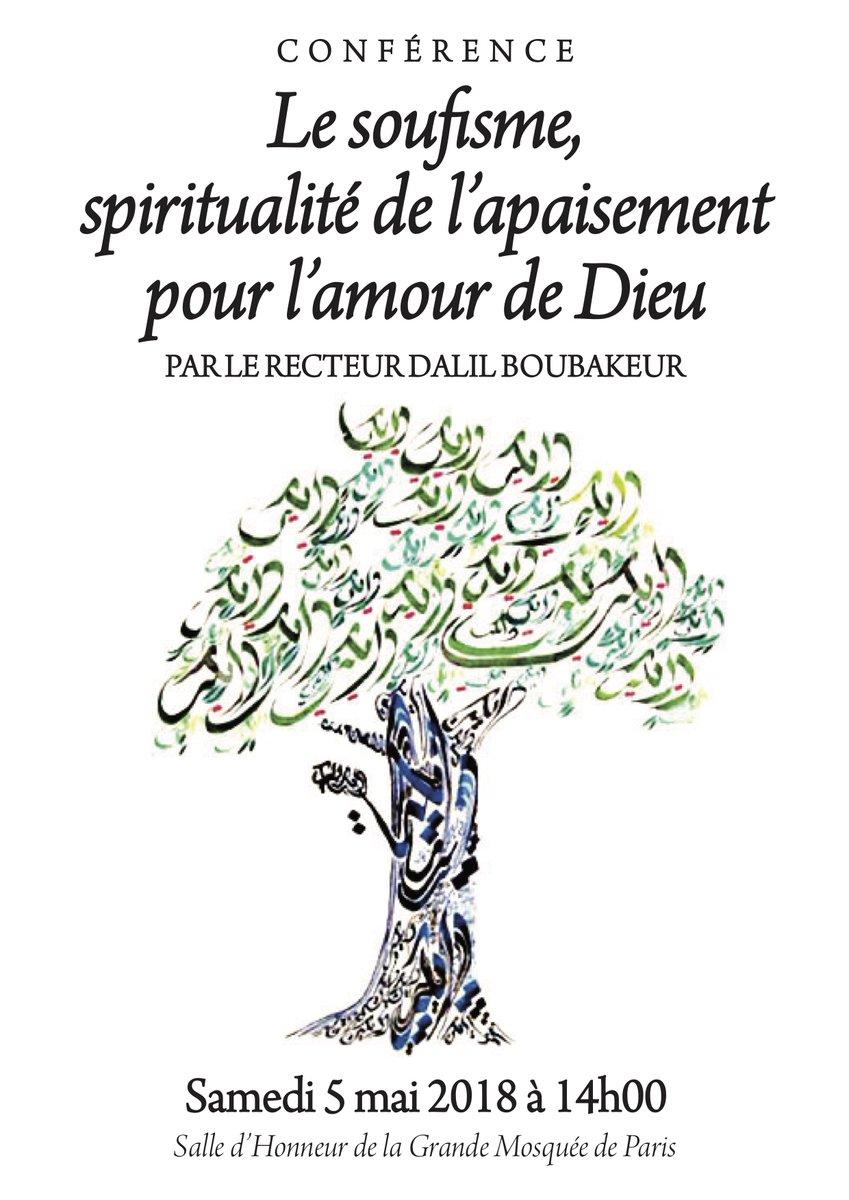 Spiritualite mosquee de paris 5 mai 2018