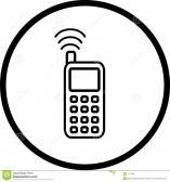 Symbole de telephone