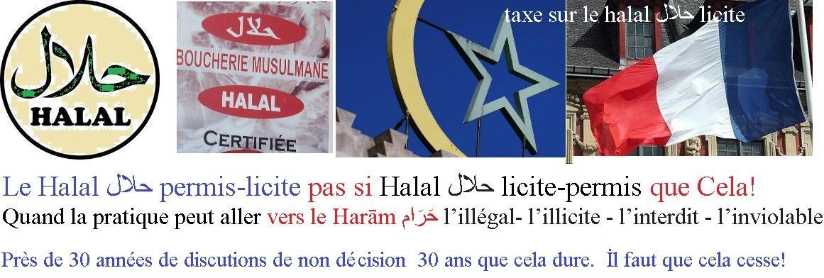 Taxe sur le halal licite 1