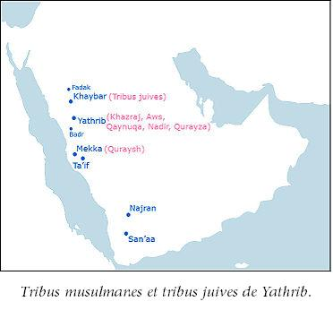 Tribus musulmanes juives arabie